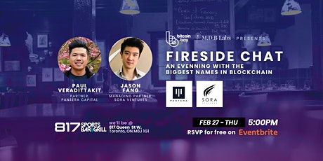 Fireside Chat with Pantera Capital & Sora Ventures hosted by Bitcoin Bay tickets