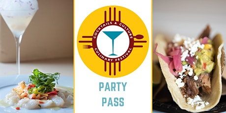 NM Cocktail & Culinary Festival PARTY PASS tickets