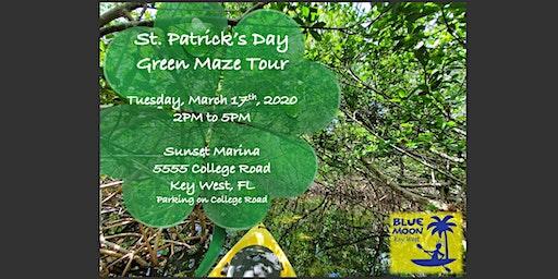 St. Patrick's Day Green Kayak Tour