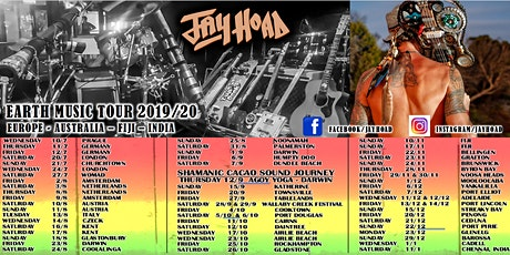 Jay Hoad at the Rails - Byron tickets