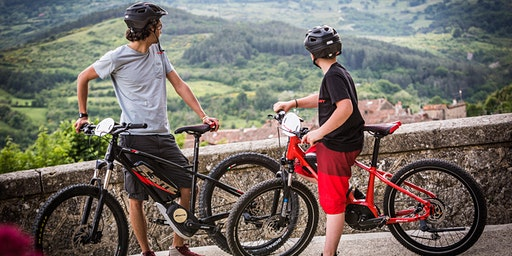 E-MTB test per le colline di Fiesole