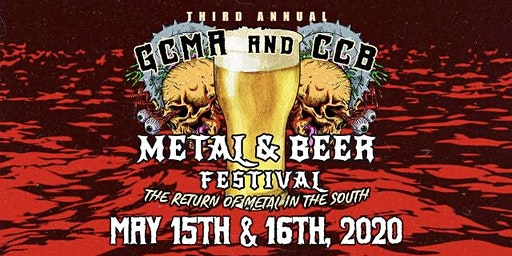 3rd Annual GCMA & CCB Metal and Beer Fest