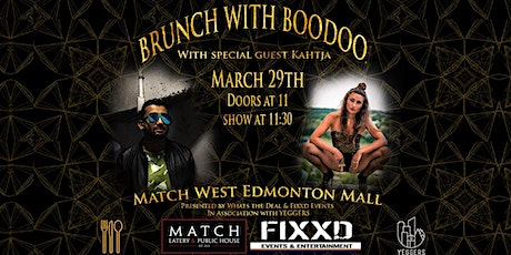 Brunch with Boodoo tickets