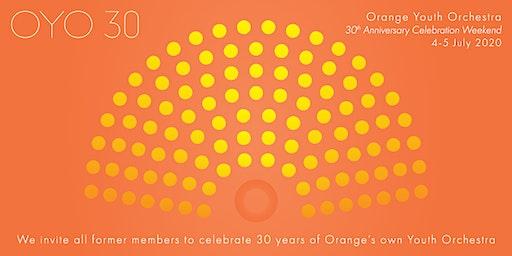 OYO 30th Anniversary Weekend Registration