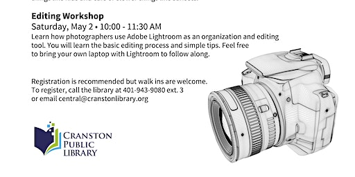 Introduction to Photography Workshops