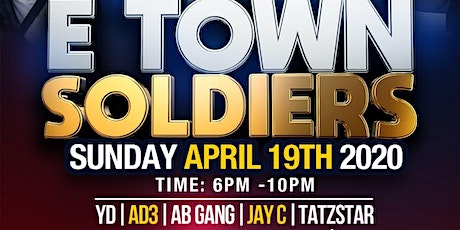 AOK EVENTS PRESENTS E TOWN SOLDIERS tickets