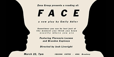 FACE - A New Play by Emily Adler tickets