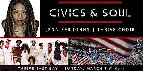 Civics & Soul tickets