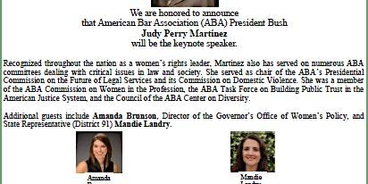 AAUW of LA Legislative Kickoff Brunch Celebrating International Women's Day
