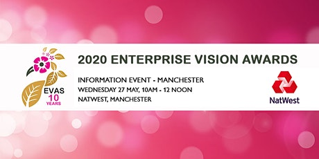 Free 2020 Enterprise Vision Awards Information Event 'Manchester' tickets