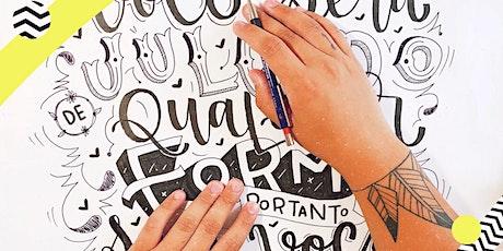 Workshop de Hand Lettering | São Paulo ingressos