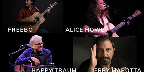 A Rare Pairing of Musical Friends: Freebo, Howe, Marotta, and Traum tickets
