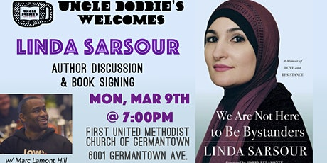 "Author Talk: Linda Sarsour, ""We Are Not Here to Be Bystanders"" tickets"