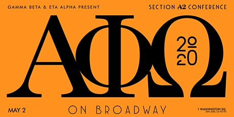 AΦΩ Section A2 Spring Sectionals S2k20 tickets