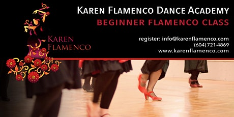 Karen Flamenco Dance Academy - Beginner Flamenco Class tickets