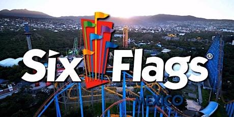 Excursión a SIX FLAGS MÉXICO Viaje Redondo entradas