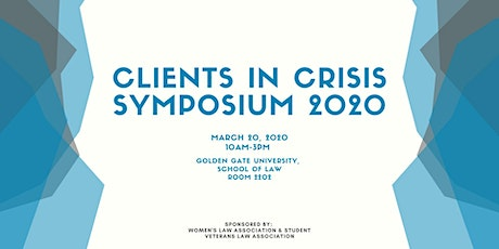 Clients in Crisis Symposium 2020 tickets