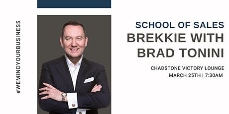 School of Sales Brekkie with Brad Tonini tickets