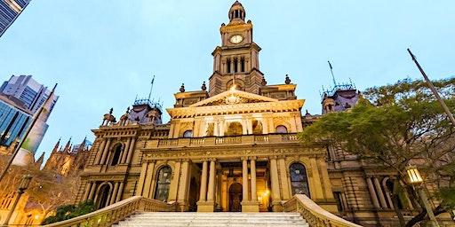 International Students Sydney Town Hall Tour