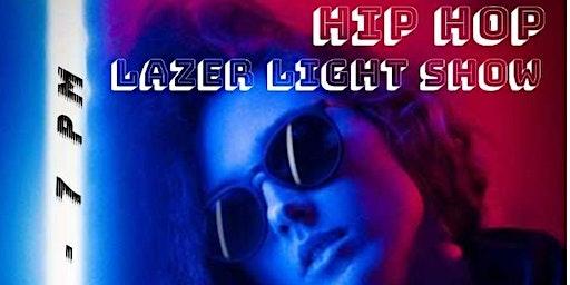 Hip Hop Laser Show, a dynamic show featuring Artist music like Usher an T.I