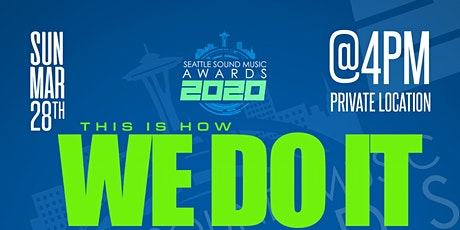 This Is How We Do It | The Seattle Sound Music Awards Town Hall Tickets