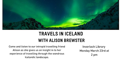 Travels in Iceland with Alison Brewster