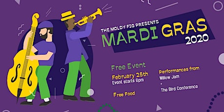 Mardi Gras Celebration at The Moldy Fig tickets
