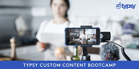 Typsy Custom Content Bootcamp tickets