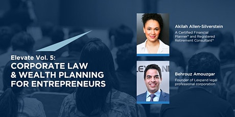 Elevate Vol. 5:  Corporate Law & Wealth Planning for Entrepreneurs tickets