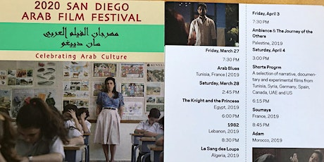 2020 San Diego Arab Film Festival tickets
