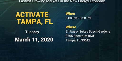 LOCAL OPPORTUNITY AND TRAINING EVENT - TAMPA, FLORIDA