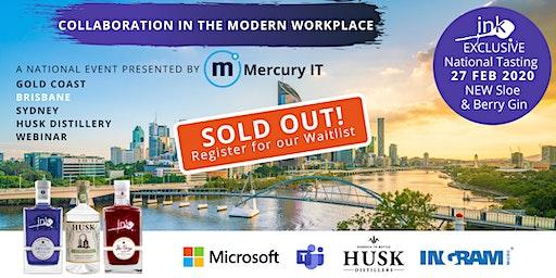Collaboration in the Modern Workplace with Microsoft - Brisbane & Webinar 27FEB20