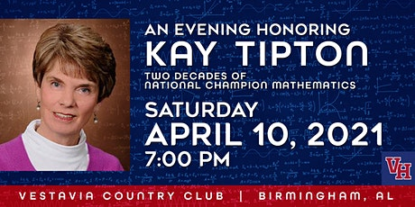 Honoring Kay Tipton: Two Decades Of National Champion Mathematics tickets