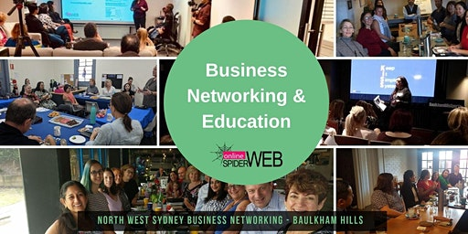 North West Sydney Business Builders FREE Networking & Masterclass - How Marketing Automation Can Accelerate Your Growth, Give You Back Time & Triple Your Profits - even on a small budget.