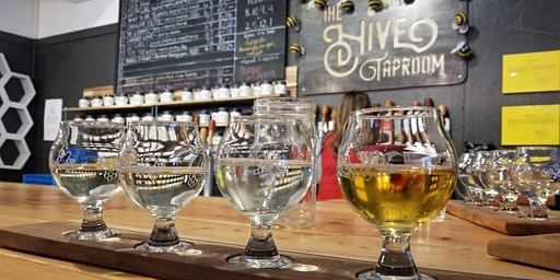 Yoga + Flight or Full Pour at the Hive Taproom