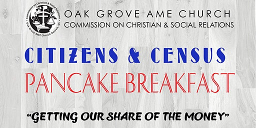 Citizens & Census Pancake Breakfast
