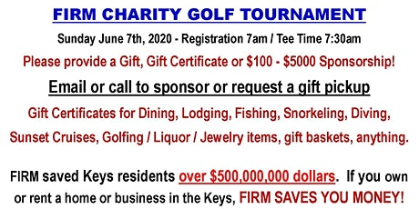 FIRM Charity Golf Tournament tickets
