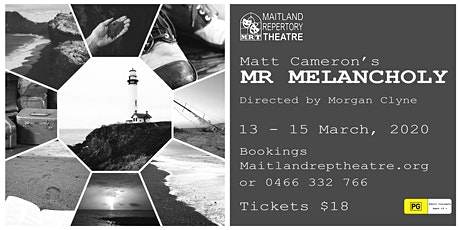 MR. MELANCHOLY: 13 March 8pm tickets