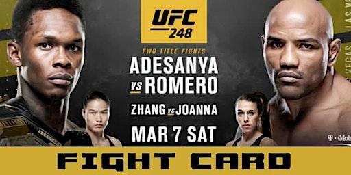 Fight Night at The Bar - Adesanya vs Romero