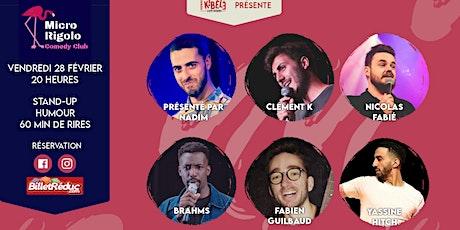 Micro Rigolo Comedy Club billets