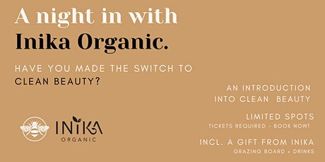 Introduction to clean beauty with Inika tickets