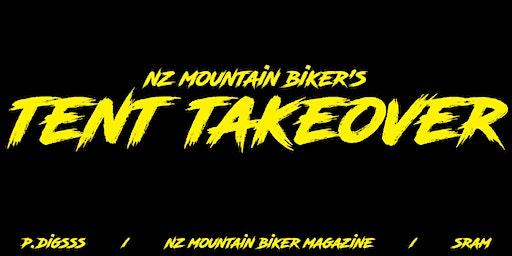 NZ Mountain Biker's SRAM Tent Takeover