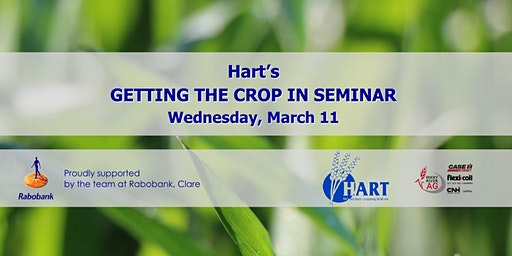 Hart's GETTING THE CROP IN seminar 2020