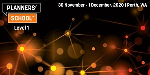 Planners' School Level 1 - Perth - November 2020