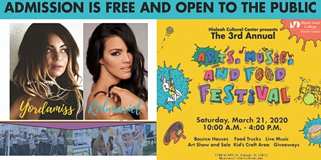 3rd Annual Arts, Music, and Food Festival Hialeah Campus tickets