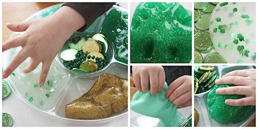 Make St. Patrick's Day Slime