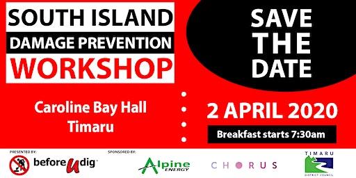 South Island Damage Prevention Workshop 2020 | TIMARU