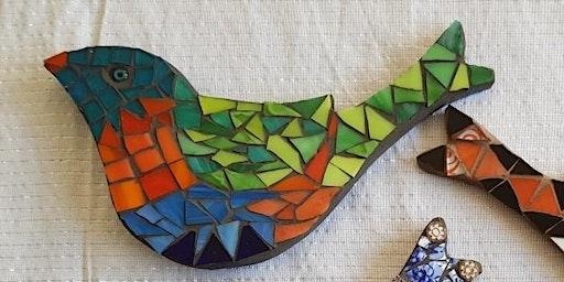 Mosaic bird designs