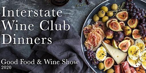 SHINGLEBACK WINE CLUB DINNER BRISBANE   THURS 22 OCT