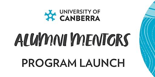 Alumni Mentor Program Launch